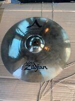 "Free P&P. A Zildjian Avedis 14"" A Custom Crash Cymbal."