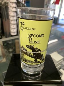 2021 Preakness Stakes Glass Short Print HTF only 4000 Made