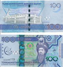 Turkmenistan [46] - 100 Manat 2017 UNC - Pick 41, Gedenkausgabe