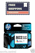 HP 802 SMALL TRI COLOR INK PRINTER CARTRIDGE GENUINE NEW BRANDED FREE SHIPPING