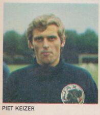 1-0 Foto Galerij 1970-1971 card/sticker Ajax Amsterdam - Piet Keizer