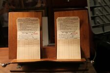2 Vintage 1971 Washington State Department of Fisheries Salmon Catch Record Tags