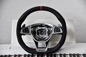 Original Mercedes-benz AMG Performance Steering C63 S63 A45 E63 SLK55 C43 Red