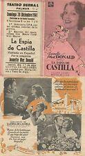 Programa PUBLICITARIO de CINE: LA ESPÍA DE CASTILLA.