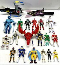 Vintage Mighty Morphin Power Rangers Figures & Parts Lot ~ Bandai 1993
