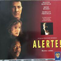 ALERTA ! WS VF PAL LASERDISC Dustin Hoffman, Rene Russo, Morgan Freeman