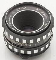 Travenar A.Schacht Schacht Ulm Edixa-Travenar-A 1:2.8 2.8 50mm 50 mm - M42