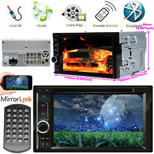 Car Stereo DVD CD Radio Player Bluetooth 2 Din 6.2