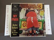 ANDRE COLBERT MY PARIS LATE 50s MONO LP T10057