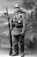 WW1 World War one Great War Photo Picture German Soldier Infantry Division 3941