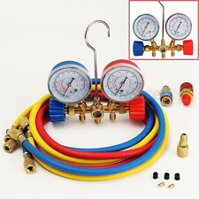 Air Conditioning Refrigeration Manifold Gauge Set R22 R12 R134A Auto H/L HVAC