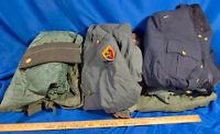 Huge LOT Military Uniforms Officer Soldier Camo Vietnam-Era Jackets Pants