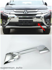 ABS Chrome Front Grille Cover Trim For Mitsubishi Outlander 2016 2017 2018 New