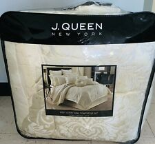 J. QUEEN NEW YORK West Coast MARQUIS 4PC Comforter Set (California King) *AS IS*