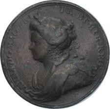 More details for queen anne - 1713 peace of utrecht medal by croker
