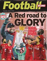 LIVERPOOL ECHO 27th June 2020 PREMIER LEAGUE CHAMPIONS 2019/2020 Road To Glory