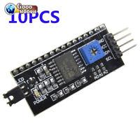 10PCS IIC/I2C/TWI/SPI Serial Interface Board Module Port 1602LCD for Arduino