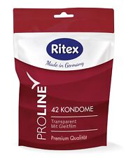 "RITEX PROLINE condoms ""made in germany"" without latex smell, package with 42 pcs"