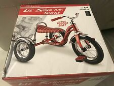 New in Box SCHWINN Lil' Sting-Ray Stingray Slicks RED Banana Seat Tricycle
