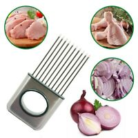 Stainless Steel Tomato Onion Slicer Vegetables Fruit Cutter Gadget Kitchen Tools