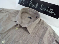 "PAUL SMITH Mens Shirt 🌍 Size M (CHEST 42"") 🌎 RRP £95+📮 IRREGULAR THIN STRIPES"