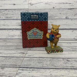 "Disney Traditions ""Hunny Of A Bear"" Winnie The Pooh Figurine Rare Showcase"