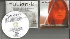 Orgy JULIEN K Cruel Daze of Summer 5TRX REMIXES & EDITS PROMO DJ CD Single 2011