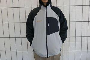Columbia Herren Jacke Gr. L Grau Jacket Trainingsjacke Fleece GL3