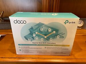 NEW TP-Link Deco X20 Wi-Fi 6 AX1800 Mesh WiFi Router Replacement System 2-PACK