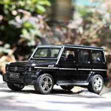 1/24 Mercedes-Benz G65 SUV Diecast Model Car Toys Collection Sound&Light Gift