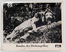 BOMBA - DER DSCHUNGELBOY original Kino Aushangfotos 9 Motive
