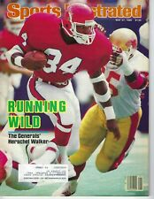 1985 5/27 Sports Illustrated magazine football Herschel Walker, Generals USFL VG