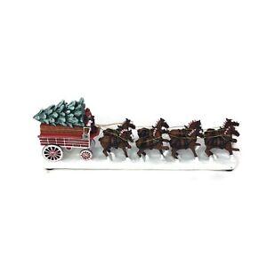 Bradford Exchange Delivery Wagon Hawthorne Village Budweiser Express Train HO