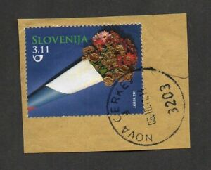 Slovenia #892, 20th anniversary of independence, from souvenir sheet.