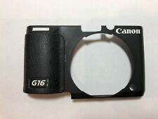 Canon Powershot G16 Front Cover Black Assembly Replacement Repair Part