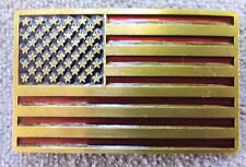 UNITED STATE USA US FLAG COUNTRY PATRIOTIC VINTAGE AMERICA AMERICAN  BELT BUCKLE
