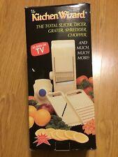 The Kitchen Wizard Slicer Dicer Grater Shredder Chopper As Seen On TV