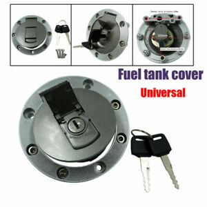 Modified Universal Motorbike Motorcycle Fuel Gas Tank Cap Cover Lock with 2 Keys