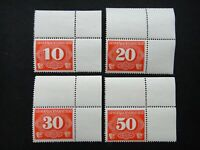 Germany Nazi 1940 Stamps MNH RURAL DELIVERY Generalgouvernement WWII Third Reich