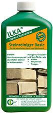 ILKA Steinreiniger Basic saures Reinigungskonzentrat, Natursteinreiniger 1 Liter