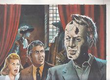 Originalzeichnung Cover Titelbild Geister-Krimi 149 Kelter 1976 Horror