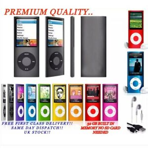 MP3 MP4 Ipod Style 32GB Music Media Player, Recorder, Player, USB, FM Radio etc