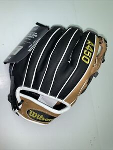 """NEW Wilson A450 LE Series 10.75"""" Youth Baseball Glove RHT Right Handed Throw"""