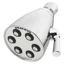 Speakman S-2252 Showerhead,Fixed,1/2 In,2.5 Gpm