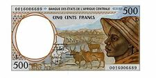 Central Africa States … P-401Lg … 500 Francs … (20)00 … Ch*UNC*.