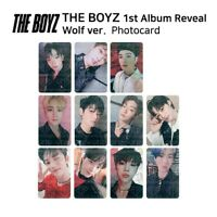 THE BOYZ 1st album REVEAL Official Photocard WOLF Version K-POP KPOP