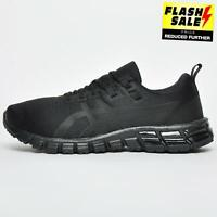 Asics Gel Quantum 90 Men's Premium Running Shoes Gym Fitness Trainers Black