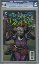 DC 52 BATMAN DARK KNIGHT #23.4 JOKER'S DAUGHTER #1 3-D LENTICULAR COVER CGC 9.8
