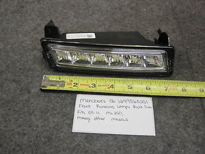MERCEDES-BENZ 1649060251 FRONT RUNNING LAMPS RT 09-11 ML350 New OEM
