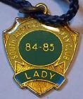 Horse Racing Members Badge - South Australian Jockey Club - 1984 / 1985 - Lady